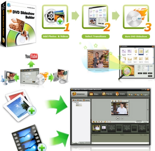 Wondershare DVD Slideshow Builder Deluxe v6.0.0.22 Portable