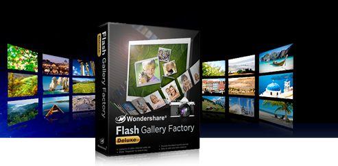 Wondershare Flash Gallery Factory Deluxe 5.2.0.9