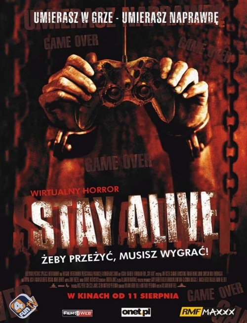 Wygrac aby zyc / Stay alive  (2006)DVDRipXviD Lektor PL