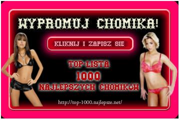 1000 NAJLEPSZYCH CHOMIKÓW