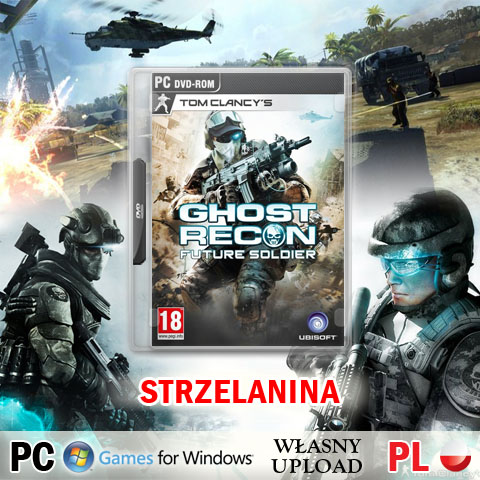 GRA TOM CLANCY'S GHOST RECON FUTURE SOLIDER PC PL