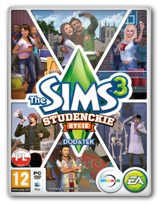 THE SIMS 3 STUDENCKIE YCIE