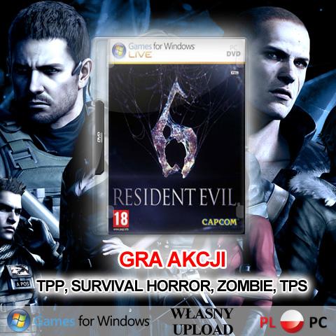 GRA RESIDENT EVIL 6 PC PL