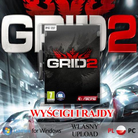 GRA GRID 2 PC CHOMIKUJ