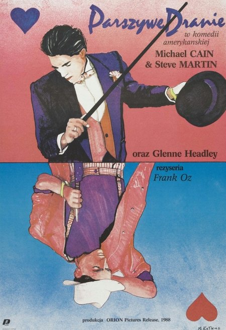 Parszywe dranie / Dirty Rotten Scoundrels (1988) PL.DVDRip.x264.AAC-FSG / Lektor PL