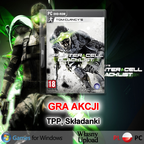 GRA Tom Clancy's Splinter Cell: Blacklist PC CHOMIKUJ