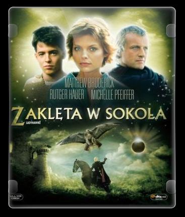 Zaklęta w sokoła / Ladyhawke (1985) PL.DVDRip.Xvid-OzW / Lektor PL