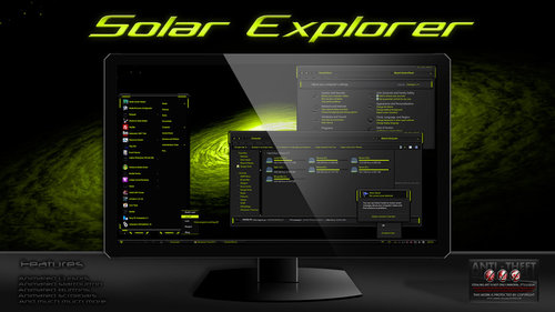 Solar Explorer Theme For Windows 7