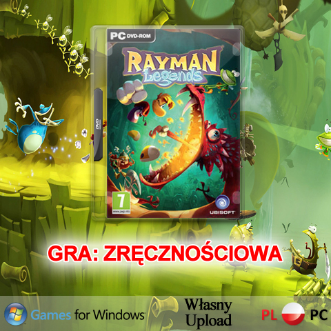 GRA RAYMAN LEGENDS PC PL