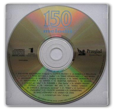 Various – 150 Niezapomnianych Melodii [CD-1][mp3@128kbps]
