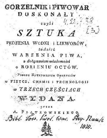 A.Piątkowski - Gorzelnik I Piwowar Doskonały Część III [PL][PDF]