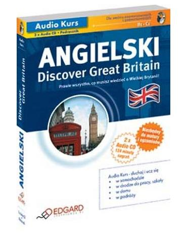Angielski Discover Great Britain [Audiokurs MP3]