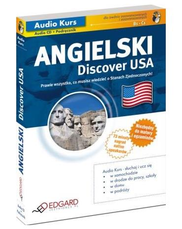 Angielski Discover USA [Audiokurs MP3]