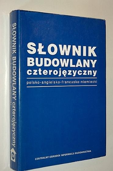 Słownik budowlany czterojęzyczny, polsko - angielsko - francusko - niemiecki [PDF]