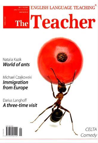 The Teacher - miesięcznik - prenumerata kwartalna już od 15,00 zł