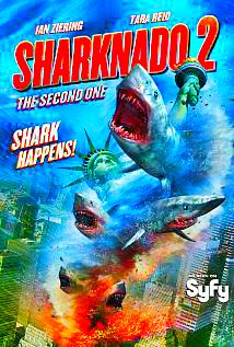 Sharknado 2: The Second One / Rekinado 2: Drugie ugryzienie (2014) PL.HDTV.XviD-BiDA / Lektor PL