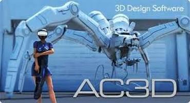 AC3D 7.2.17[ENG][Keygen]