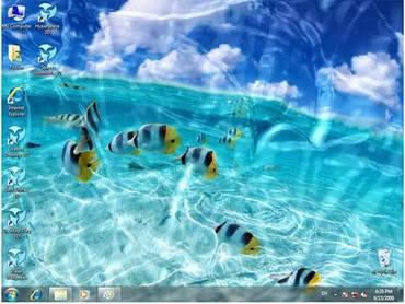 Watery Desktop 3D v3.53[ENG][Keygen]