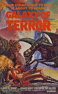 Galaxy of Terror is a 1981 science fiction/horror film