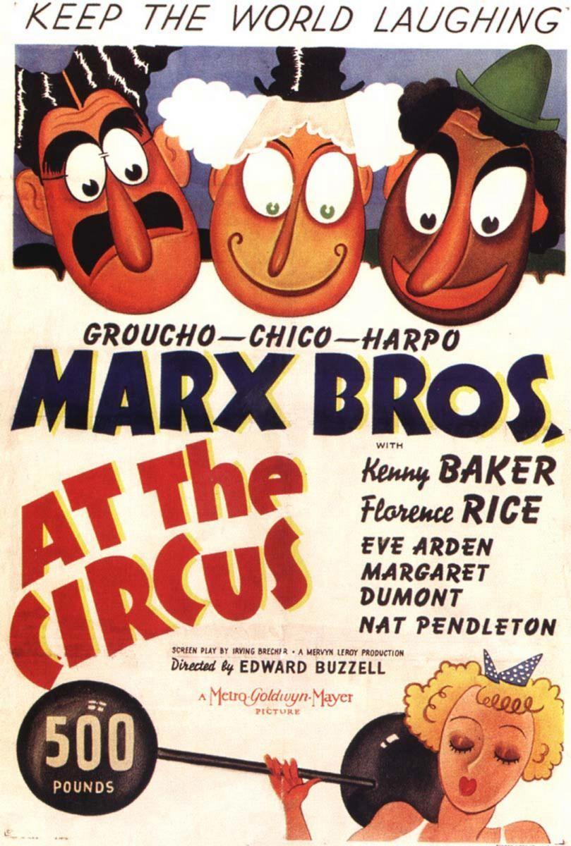 Bracia Marx w cyrku / At the Circus
