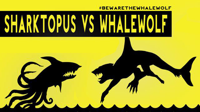 Sharktopus vs Whalewolf (2015)
