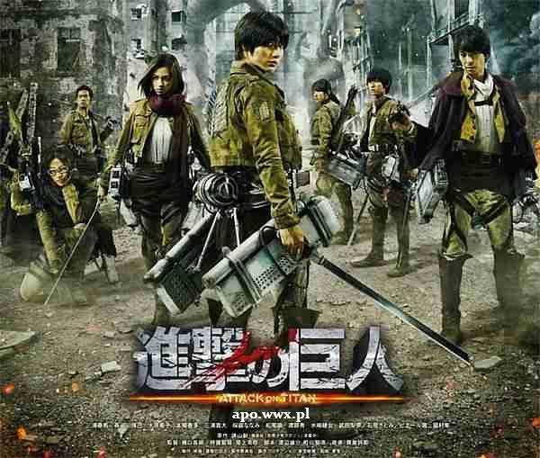 Attack On Titan /Atak Tytanów (2015)