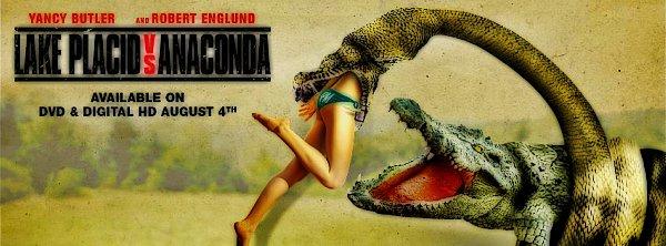 Aligator kontra Anakonda / Lake Placid vs. Anaconda (2015) PL