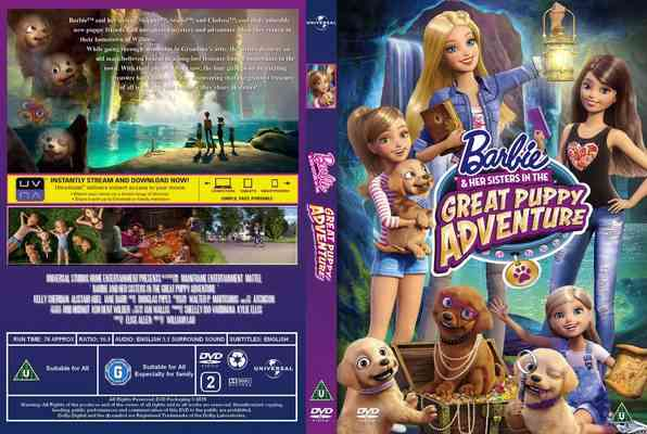 Barbie & Her Sisters in The Great Puppy Adventure / Barbie i siostry: Wielka przygoda z pieskami (2015) PLDUB DVDRip XviD-KiER / Dubbing PL