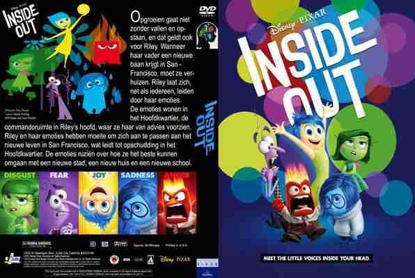 W głowie się nie mieści / Inside Out (2015) PLDUB BDRip XviD-KiER
