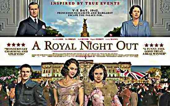 Randka z królową / A Royal Night Out (2015) PL