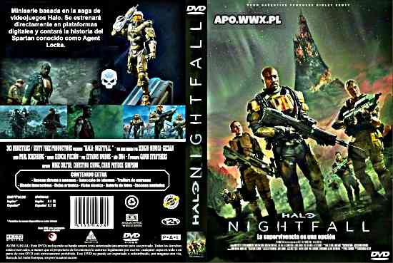 Halo: Zmrok / Halo: Nightfall (2015) [SEZON 1] PL BRRip XviD-KiER / LEKTOR PL