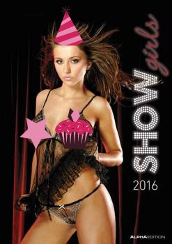 Show Girls Erotic Calendar 2016