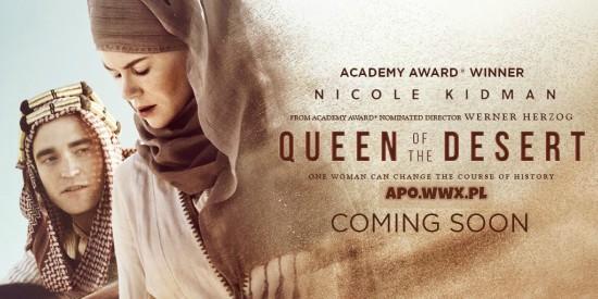 Królowa Pustyni / Queen of the Desert 2015