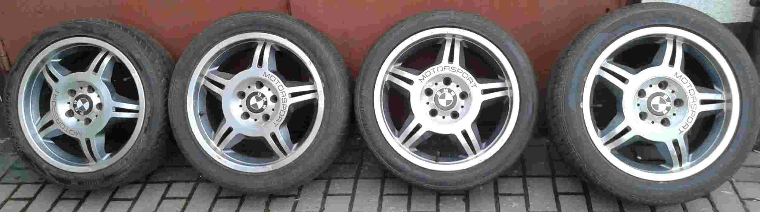 kola BMW cztery sztuki ALU