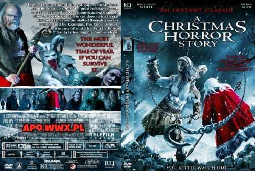 Koszmarna opowieść wigilijna / A Christmas Horror Story (2015) PL.BDRip.XviD-KiT / Lektor PL