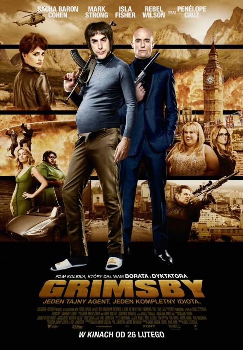 Chłopcy rzeźnika / The Brothers Grimsby (2016)