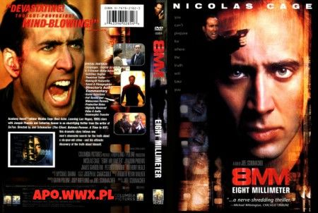 8 milimetrów (1999) 8MM (original title)  | 2h 3min | Mystery, Thriller
