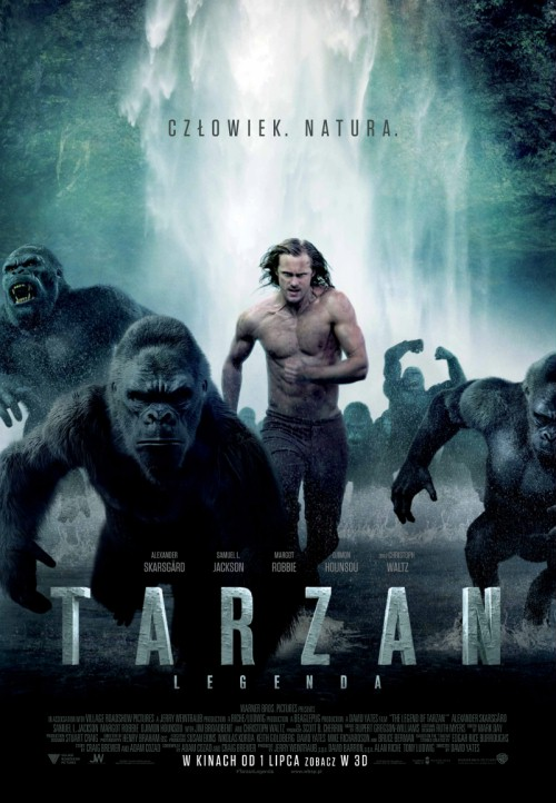 The Legend of Tarzan / Tarzan: Legenda (2016) GATUNEK ? Akcja, Przygodowy