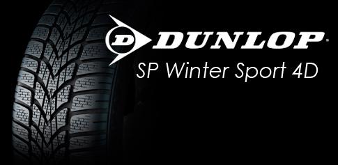 OPONY ZIMOWE Dunlop SP Winter Sport 4D