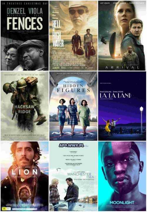 Nominacje do Oskarów 2017 – najlepszy film