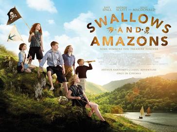 Jaskółki vs Amazonki / Swallows and Amazons (2016)