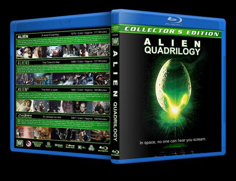 Obcy [Collection] Alien [QUADRILOGI] [1979 1986 1992 1997] [720p] [BRRip] [XviD] [AC3 D14] [Lektor PL]