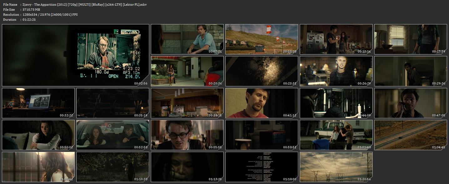 Zjawy / The Apparition [2012] [720p] [MULTI] [BluRay] [x264 LTN] [Lektor PL]