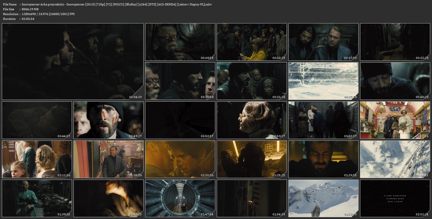 Snowpiercer: Arka przyszłości / Snowpiercer [2013] [720p] [V2] [MULTi] [BluRay] [x264] [DTS] [AC3 DENDA] [Lektor i Napisy PL]