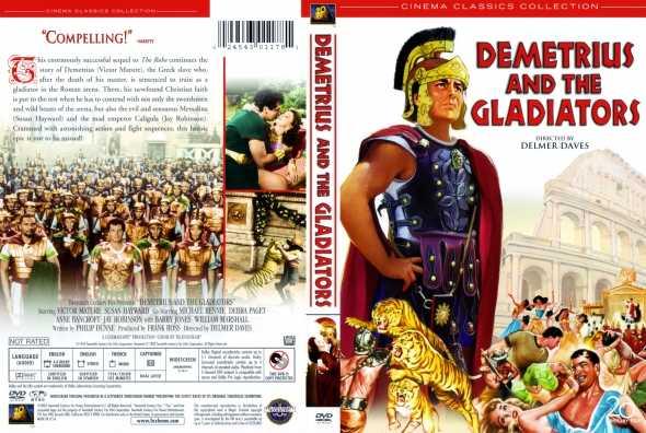 Demetriusz i gladiatorzy / Demetrius and the Gladiators