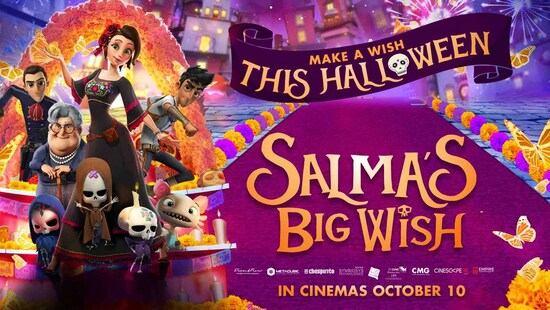 Salma w krainie dusz / Salma's Big Wish / Dia de Muertos (2019)
