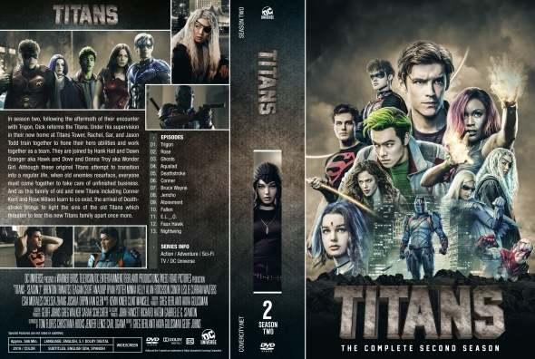 Titans - sezon 2