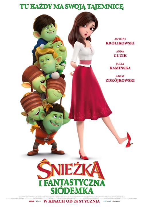 Śnieżka i Fantastyczna Siódemka / Red Shoes and the Seven Dwarfs (2019) PLDUB.MD.720p.HDRip.x264-HFu / Dubbing Kino.PL